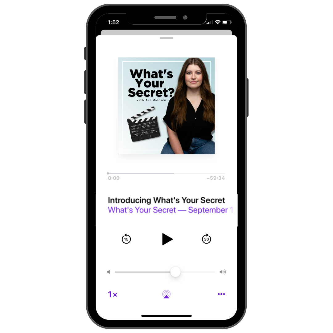 What's Your Secret Podcast